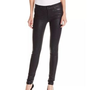 Joe's Jeans Icon Mid-Rise Jet Sparkler Skinny